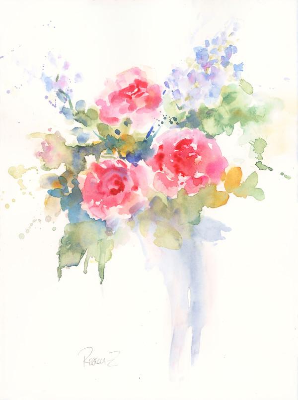 Rose Medley by Rebecca Zdybel