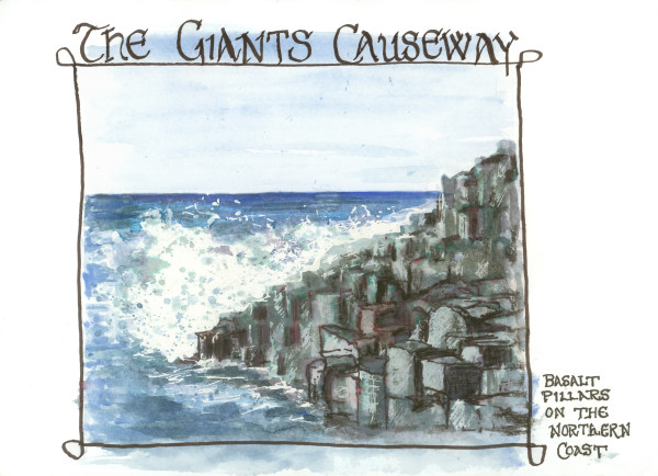 Giant's Causeway by Rebecca Zdybel