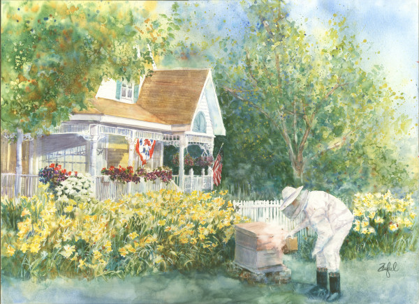 The Beekeeper's Cottage by Rebecca Zdybel