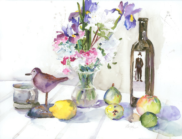 Still Life with Invisible Man by Rebecca Zdybel