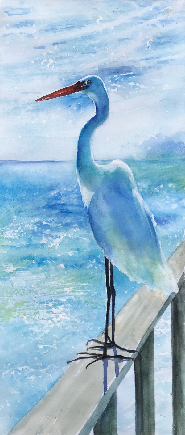 King of the Pier by Rebecca Zdybel