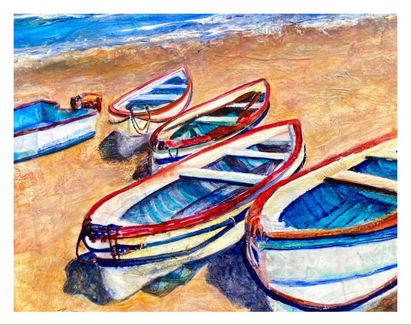 Beached Boats by Rebecca Zdybel