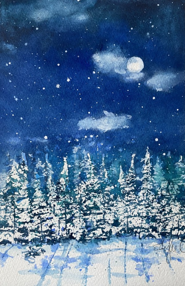 Silent night series - for Sherrie by Rebecca Zdybel