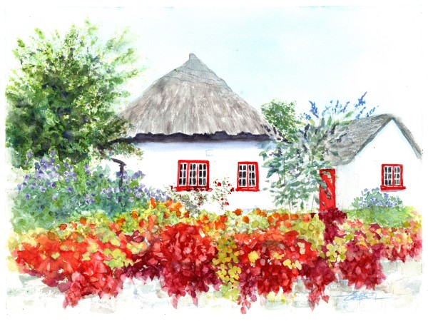 Adare Cottage 3 by Rebecca Zdybel
