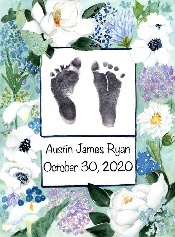 Austin James Ryan Footprint by Rebecca Zdybel