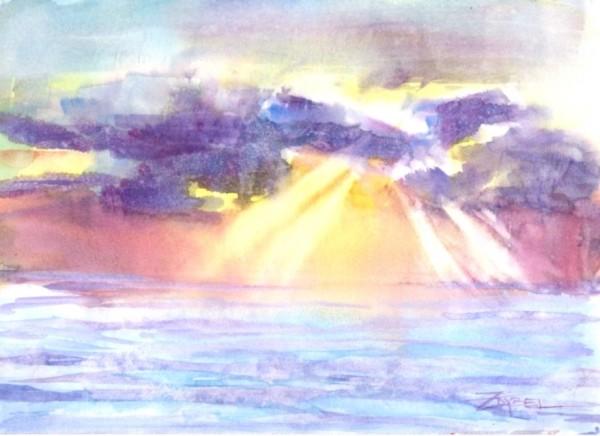Breaking Dawn by Rebecca Zdybel
