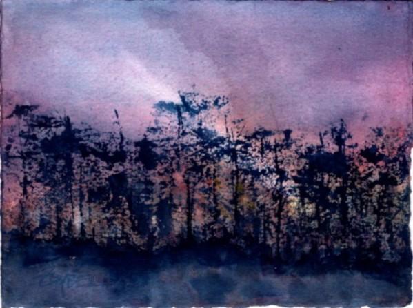 Dusky Blues by Rebecca Zdybel