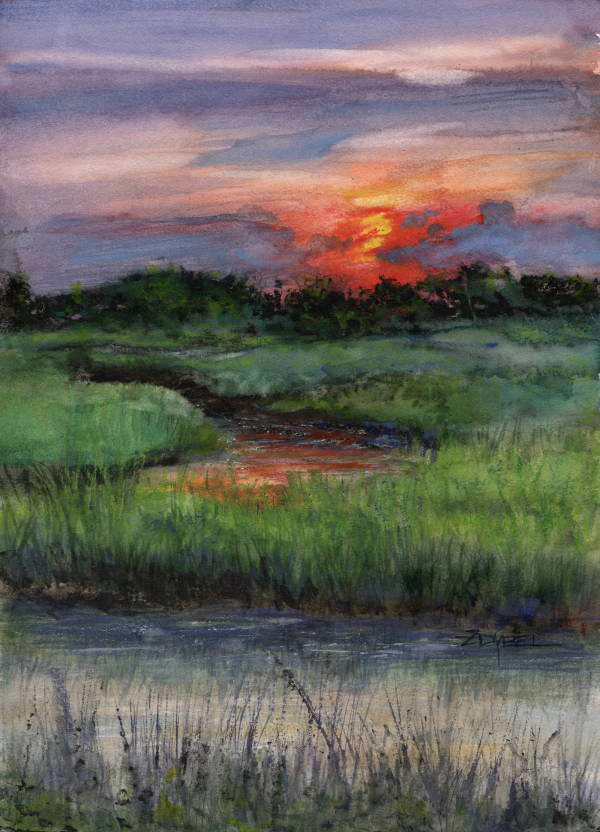 Escape to the Low Country Class Demo by Rebecca Zdybel