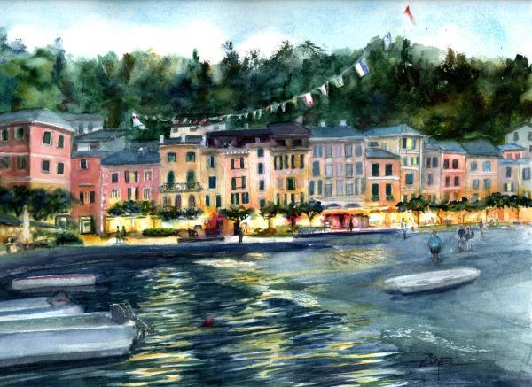 Escape to Portofino by Rebecca Zdybel