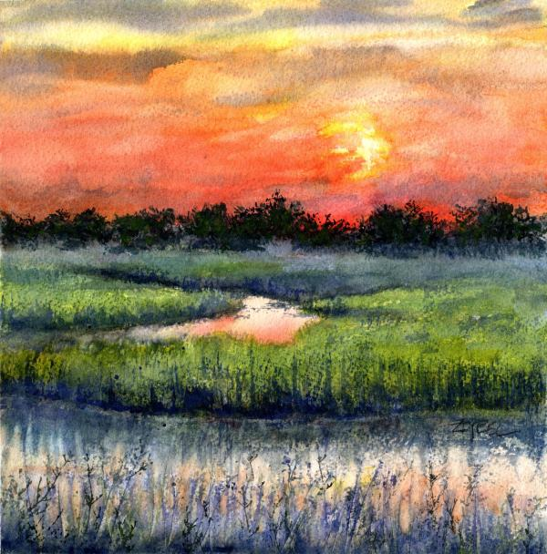 Escape to the Low Country by Rebecca Zdybel