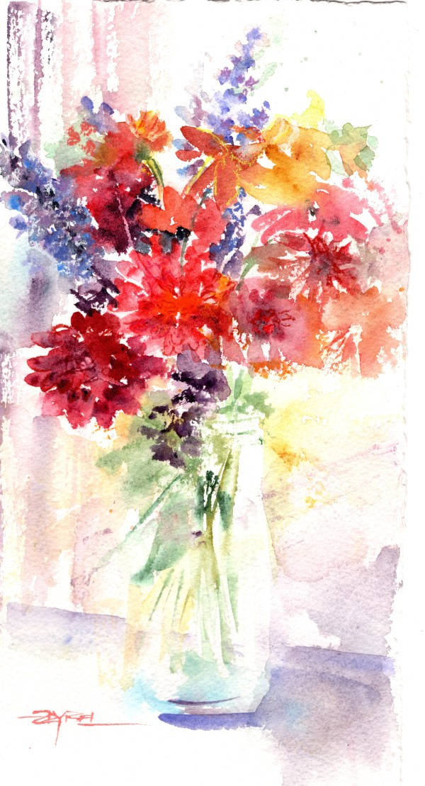 Fast & Loose Floral -WFF by Rebecca Zdybel