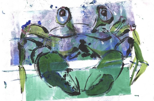 Fragmented Crab by Rebecca Zdybel