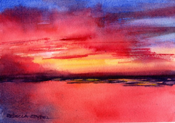 Glimpse of Glory 2- Horizontal by Rebecca Zdybel