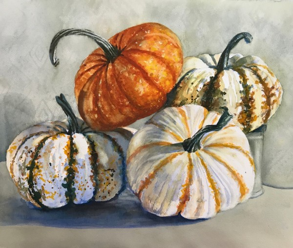 Pike of Pumpkins by Rebecca Zdybel