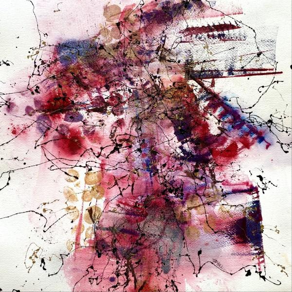 Rhythms In Red by Rebecca Zdybel