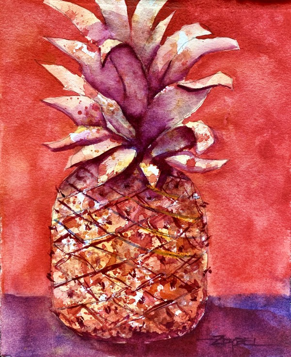Party Pineapple Take 2 by Rebecca Zdybel