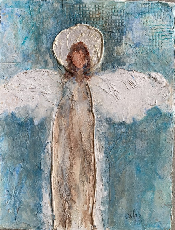 Angel Icon 1 by Rebecca Zdybel