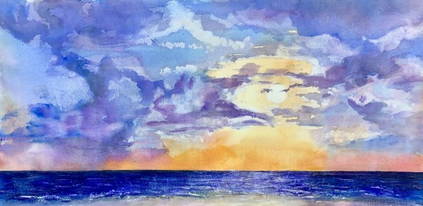 Cloud Study: Englewood FL by Rebecca Zdybel