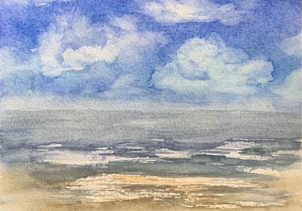 Ocean's Clouds by Rebecca Zdybel