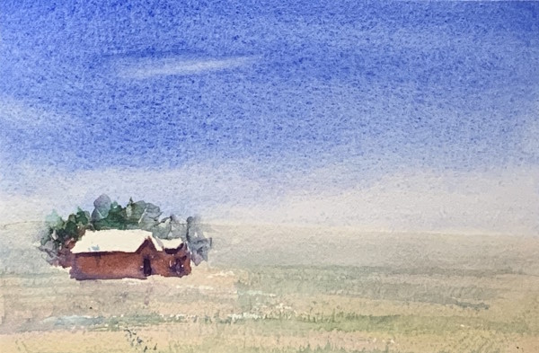 Country Barn by Rebecca Zdybel