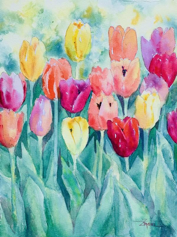 Timely Tulips by Rebecca Zdybel
