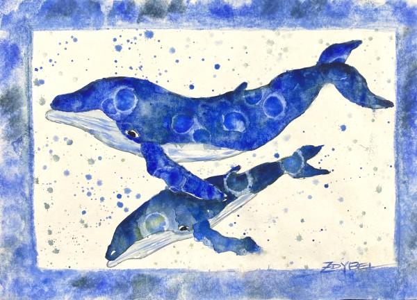 True Blue by Rebecca Zdybel