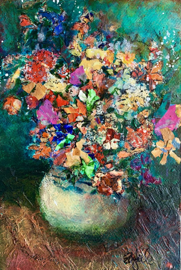 Floral 2 by Rebecca Zdybel