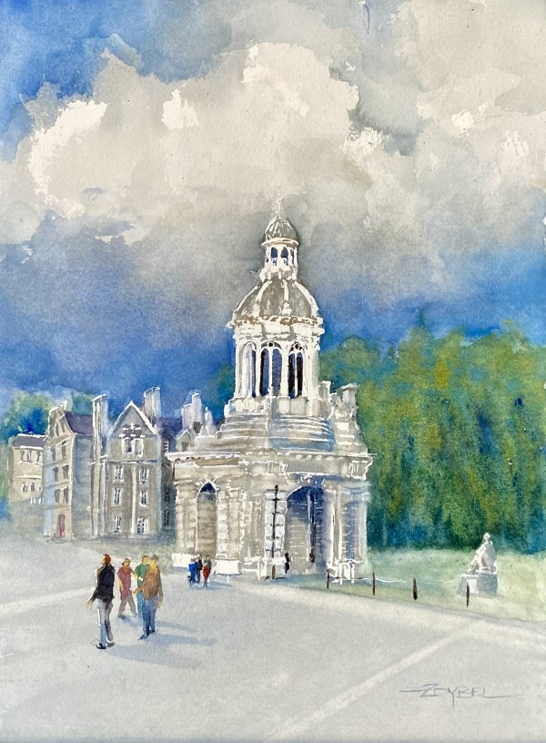 Trinity College by Rebecca Zdybel