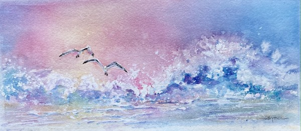 Wings and Waves for Two by Rebecca Zdybel
