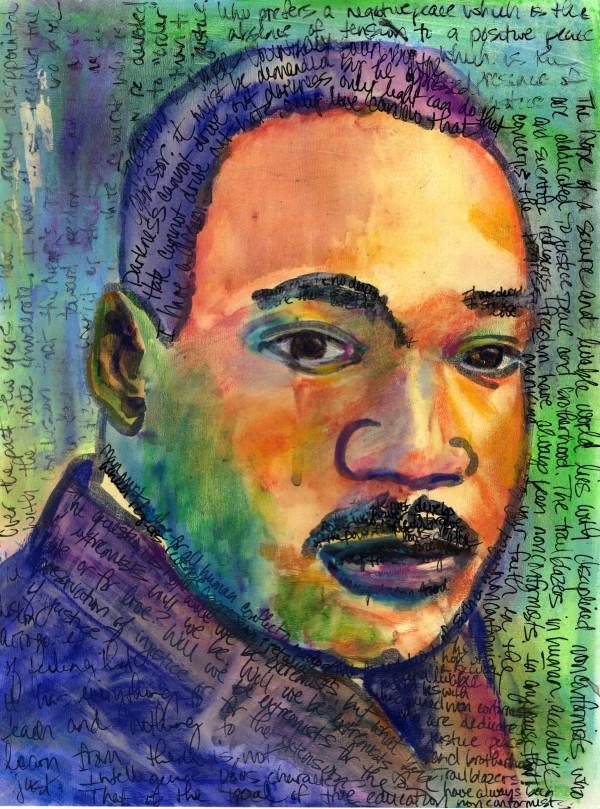MLK-Legacy of Inspiration by Rebecca Zdybel