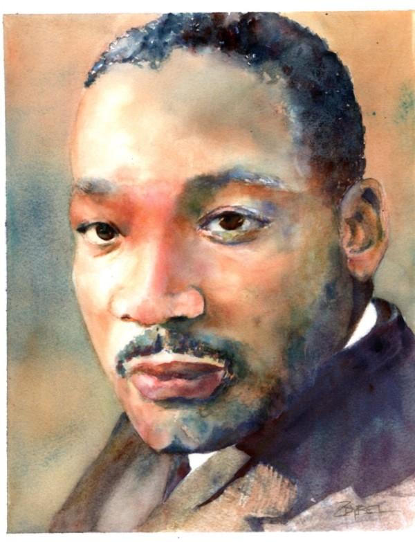 MLK for Carole Martin by Rebecca Zdybel