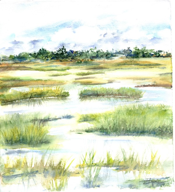 Mellow Marsh 2 by Rebecca Zdybel