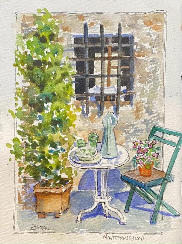 Monterrigioni Corner by Rebecca Zdybel