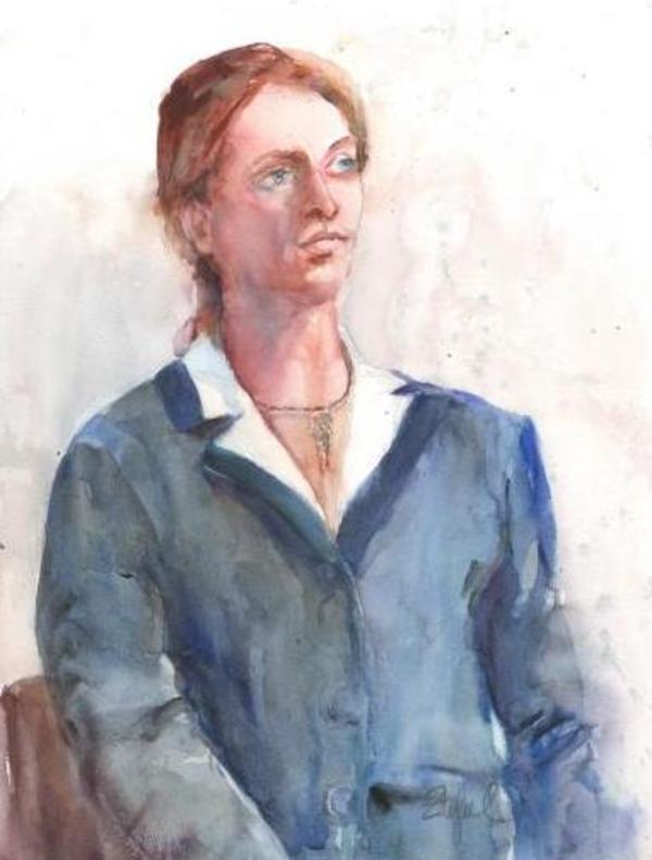 Ol' Blue Eyes by Rebecca Zdybel