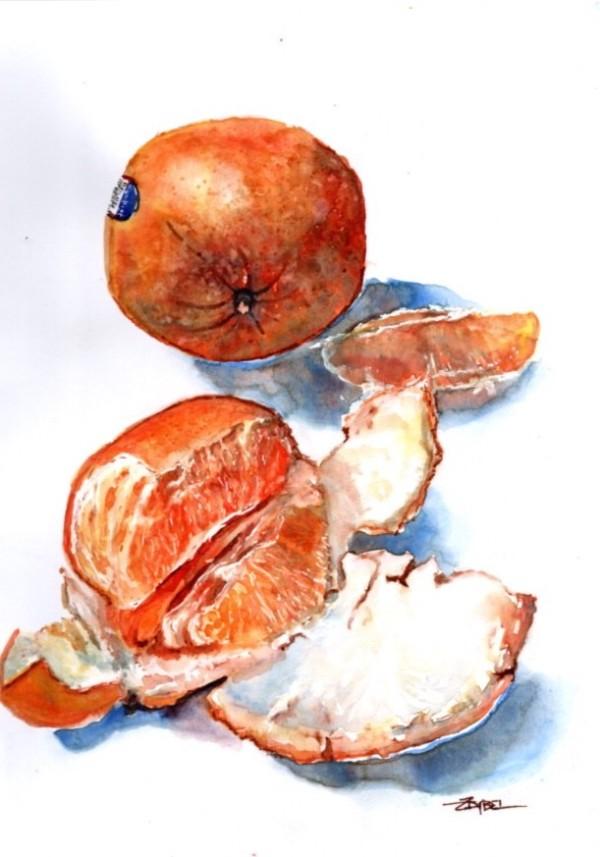 Orange A-Peel by Rebecca Zdybel
