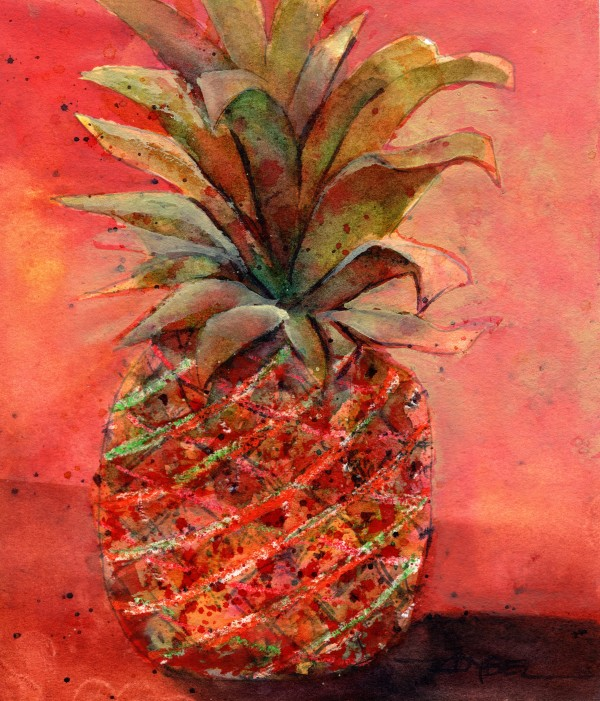 Party Pineapple by Rebecca Zdybel
