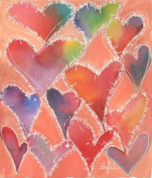 Sweet Hearts by Rebecca Zdybel