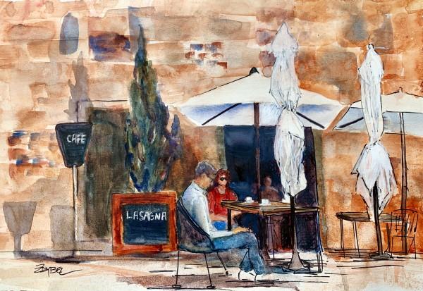 Coffee Cafe by Rebecca Zdybel