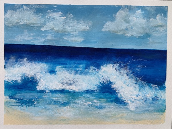 Madison's Waves by Rebecca Zdybel