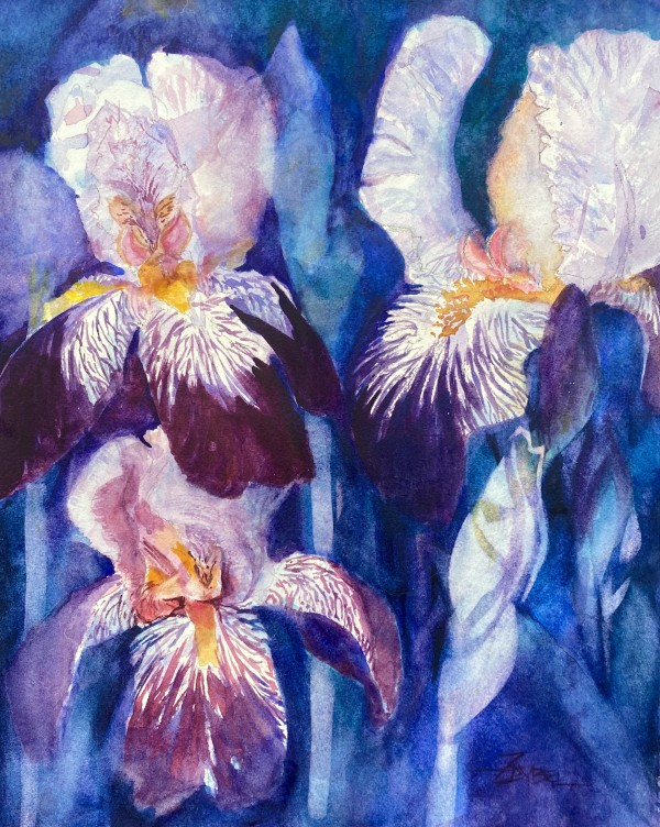Imperial Iris 3 by Rebecca Zdybel