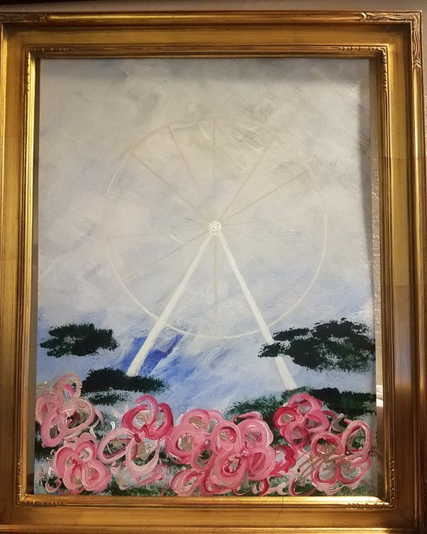 Rose Wheel by Irene Bee Kain