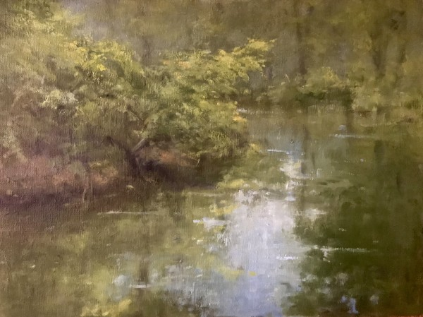 Cascade Lake canal by susan hope fogel