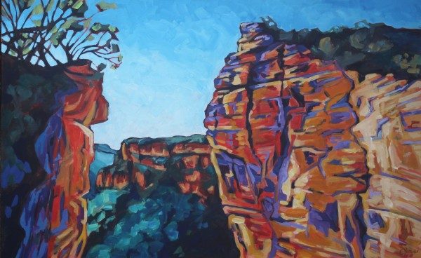 Hanging Rock In All Its Glory by Eileen Noyer