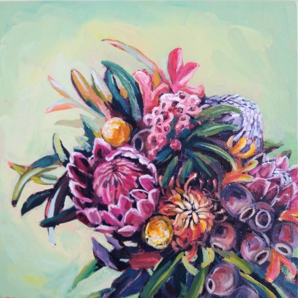 Aussie Native Bouquet by Eileen Noyer