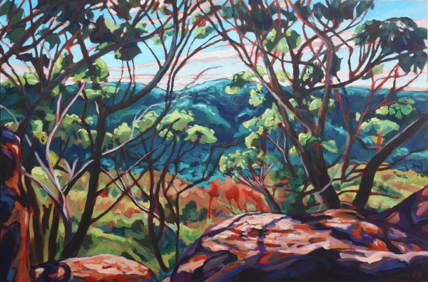 A Blue Mountains Ballad by Eileen Noyer