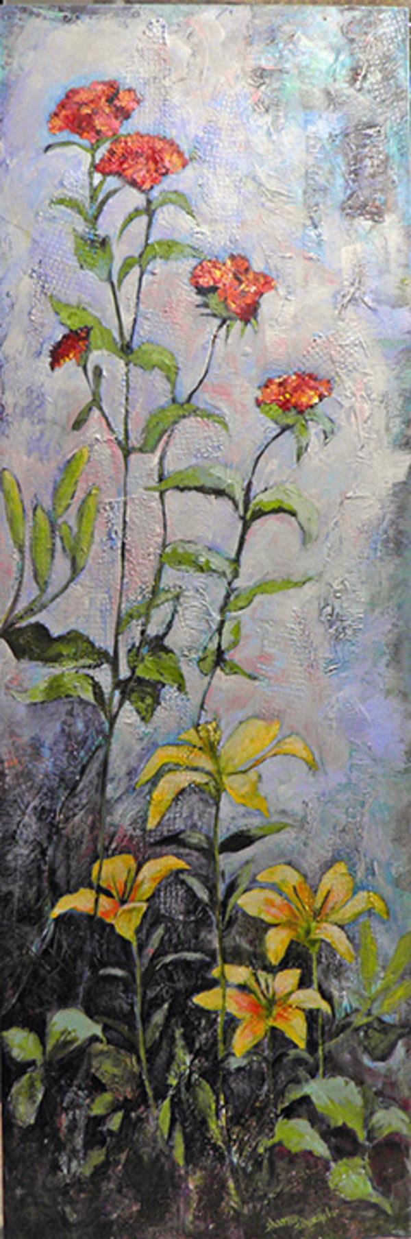 A Patch of The Pause Garden by Sharron Schoenfeld