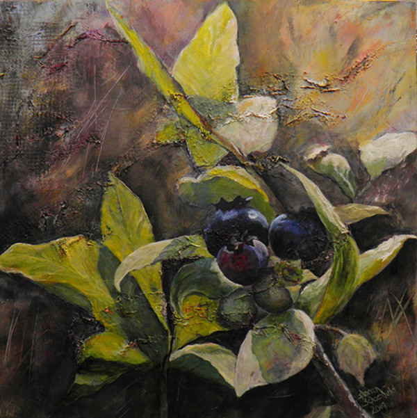 Blueberries Taste Like Summer by Sharron Schoenfeld