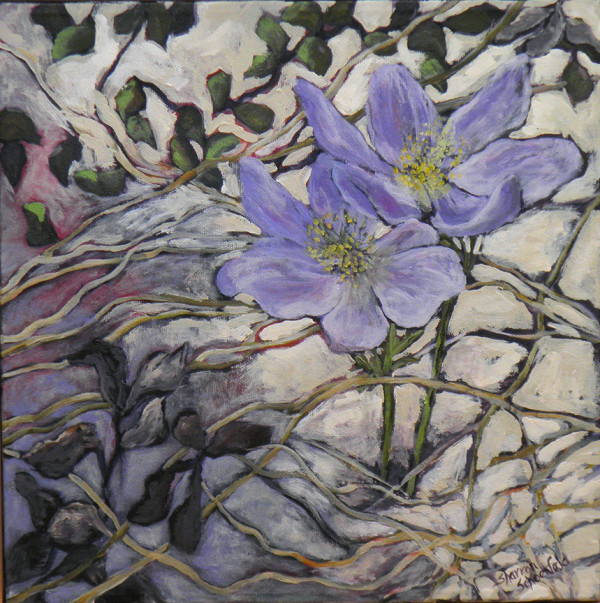 Crocus 3 by Sharron Schoenfeld