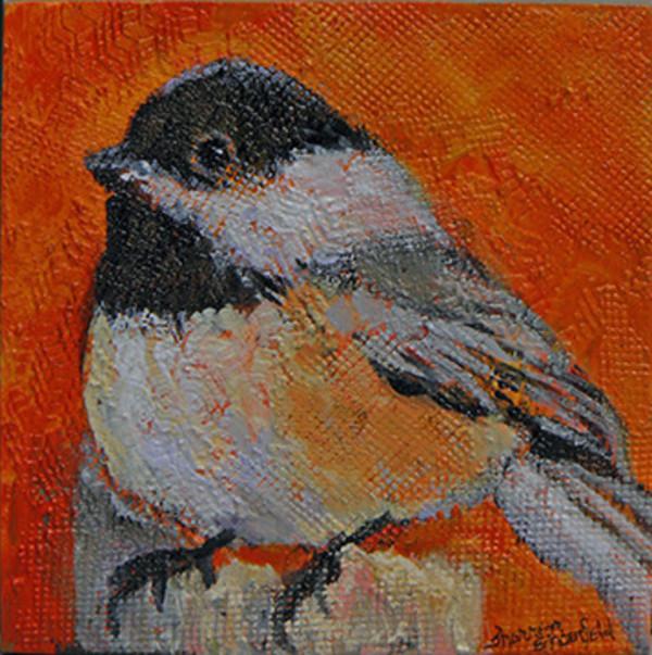 Chickadee 2 by Sharron Schoenfeld