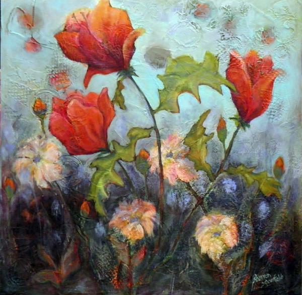 Flower Medely by Sharron Schoenfeld